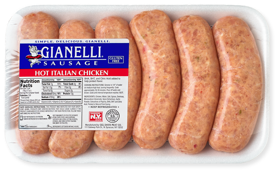 Our Products Gianelli Sausage